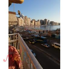 شقة للايجار مفروش- بير مسعود - سيدى بشر -الاسكندرية -الدور٢-للاس