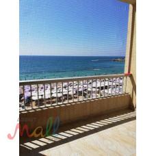 شقة للايجار مفروش - سيدى بشر -الاسكندرية -الدور٣-على البحر مباشر